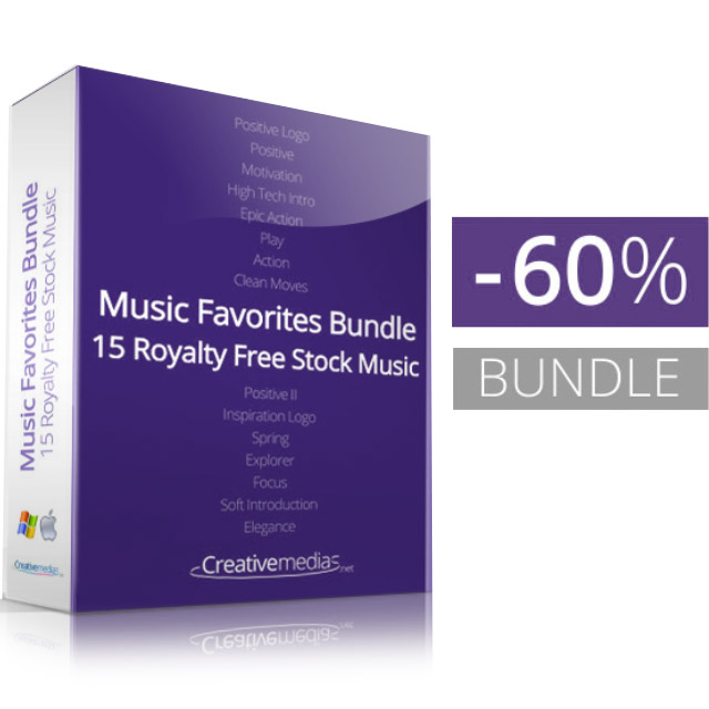 Royaltyfree Stock Music For After Effects Templates - Purchase after effects templates