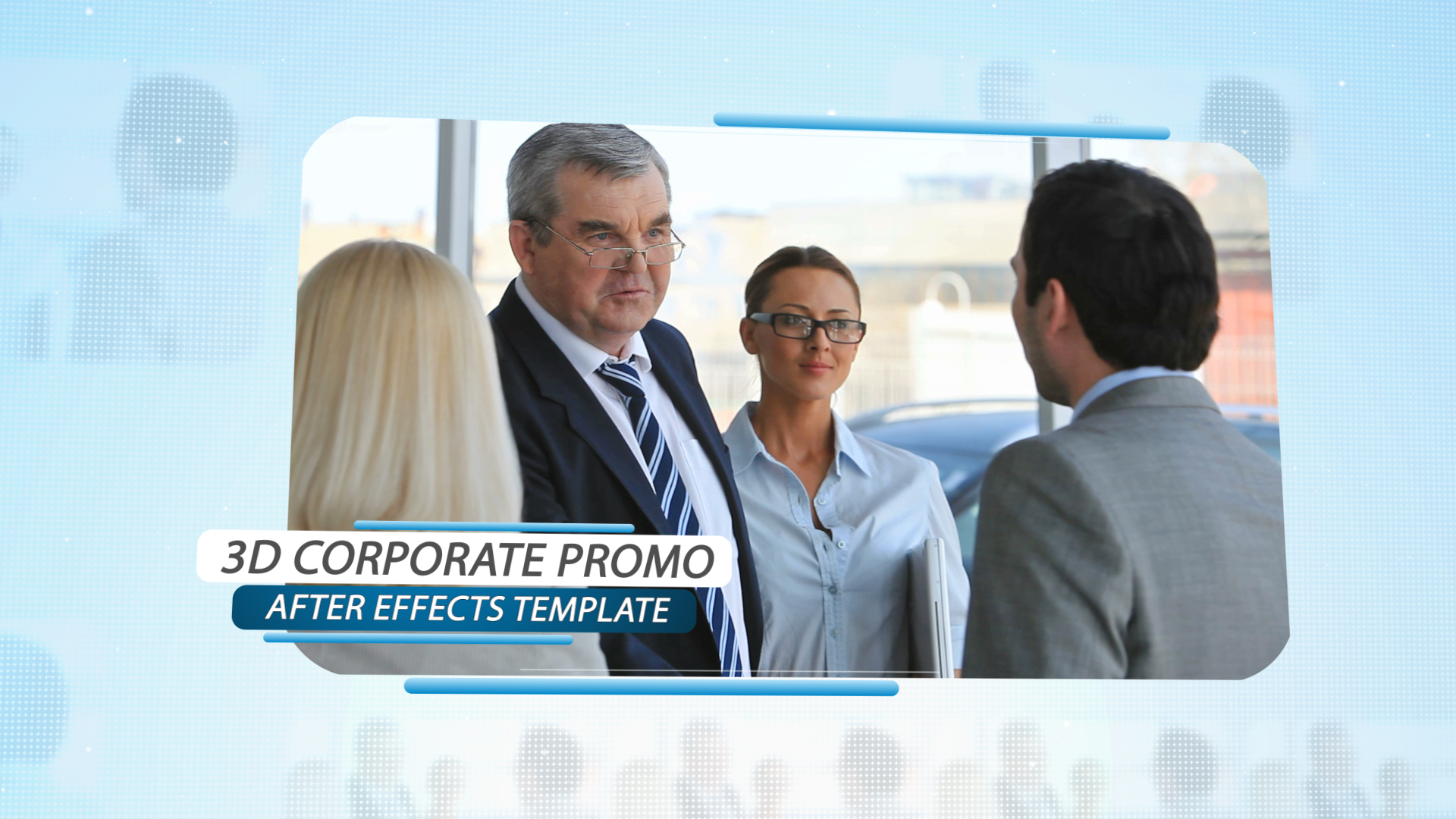 3d corporate promo for Habitacion 3d after effects